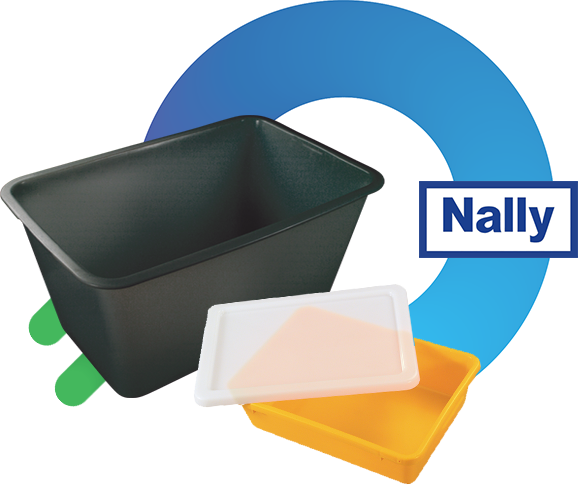 Nally Plastic Crates